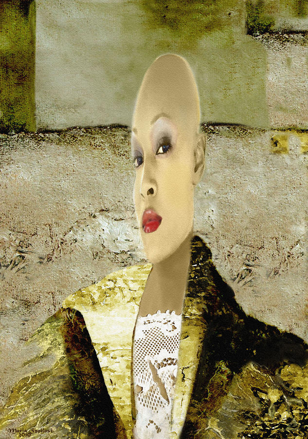 Fashion Series 01 Digital Art  - Fashion Series 01 Fine Art Print