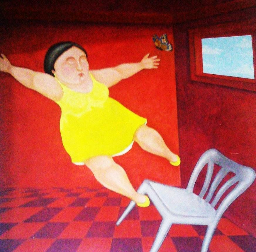 fat lady falling off table № 80539