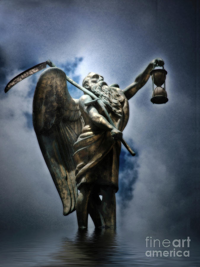Father Time  Photograph  - Father Time  Fine Art Print
