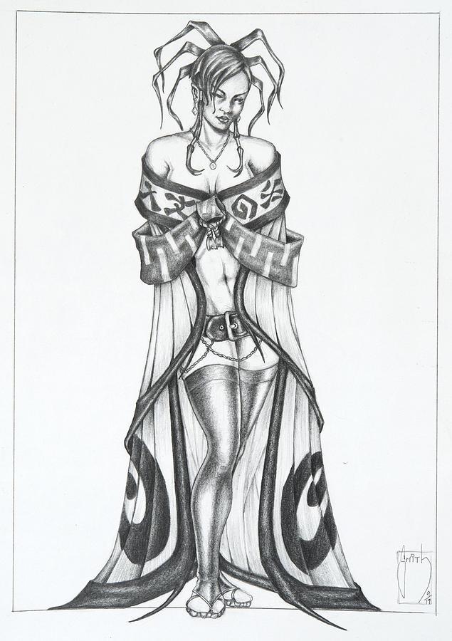 Fatora - The Light Moth Drawing
