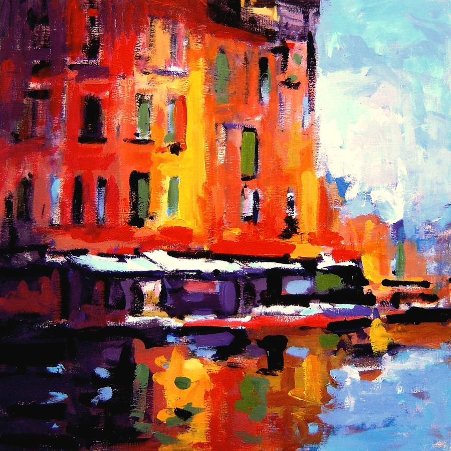 Fauvist Painting - Fauvo Porto by R W Goetting