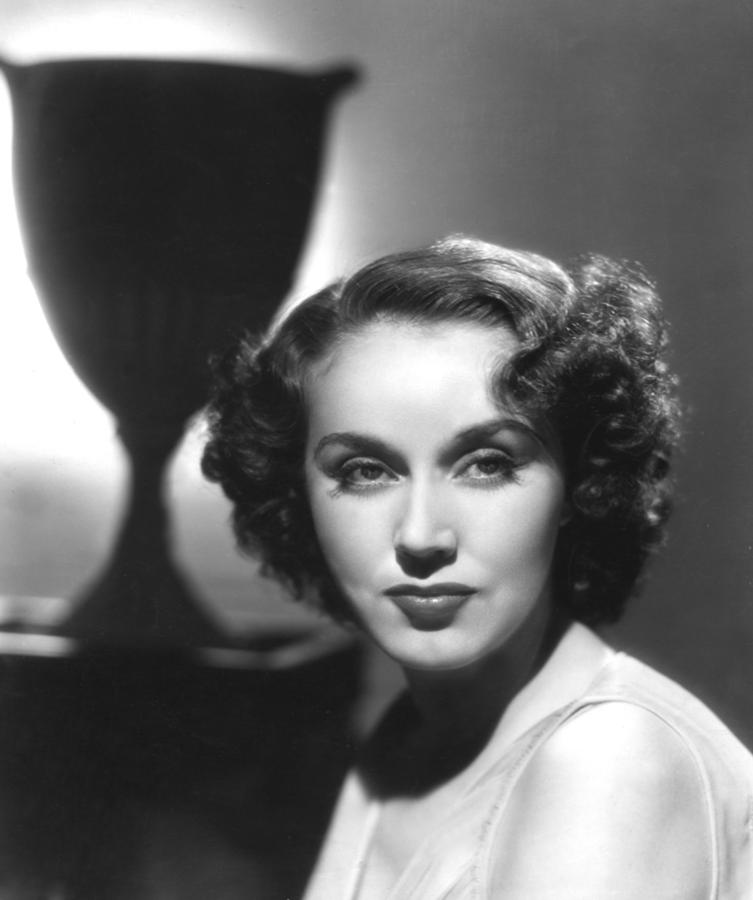 Fay Wray, Columbia Pictures, Ca. Late Photograph  - Fay Wray, Columbia Pictures, Ca. Late Fine Art Print