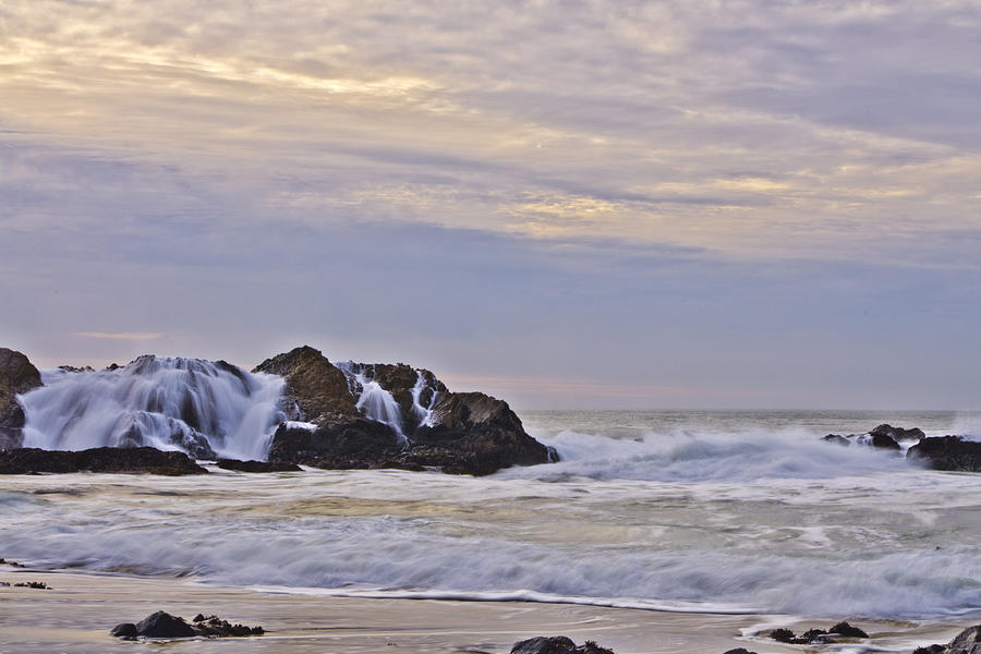 February Seascape Photograph  - February Seascape Fine Art Print