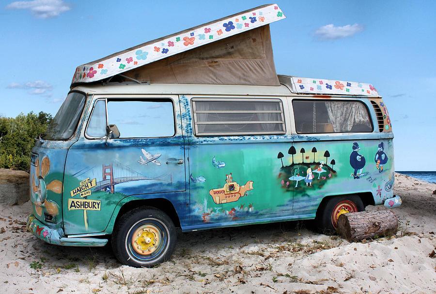 Volkswagen Photograph - Feelin Groovy by Kristin Elmquist