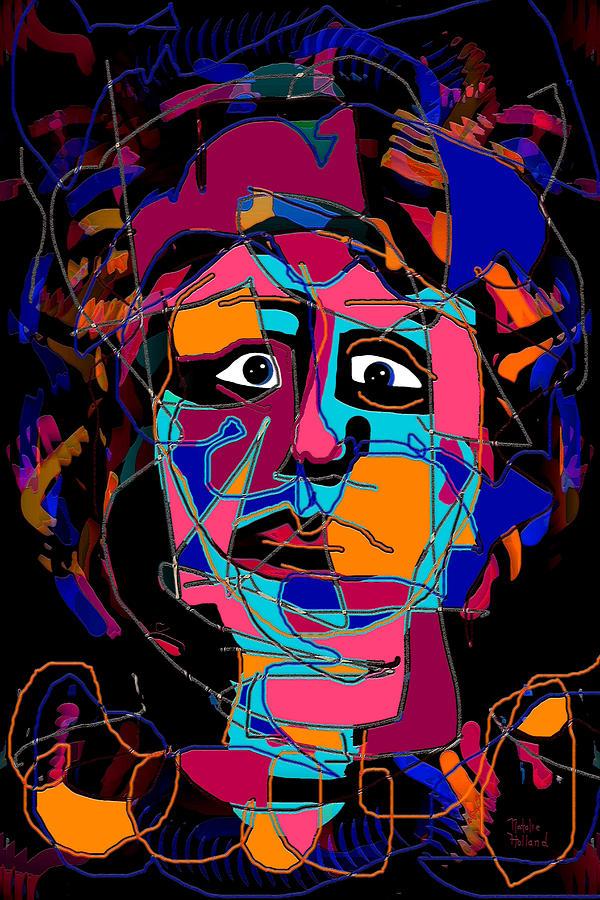 Feeling Blue Mixed Media