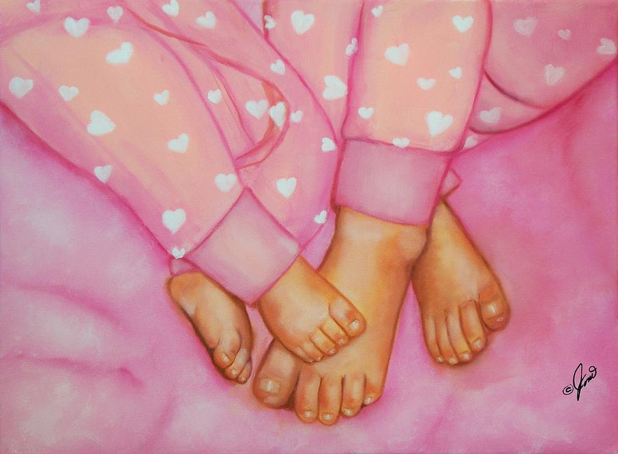 Feet Fete Painting  - Feet Fete Fine Art Print