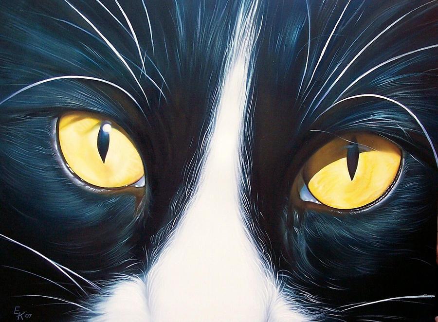 Feline Face 2 Painting
