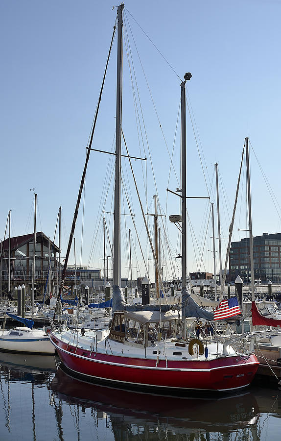Fells Point Boatyard Photograph
