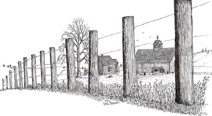 Image Result For Rustic Barn Sketch