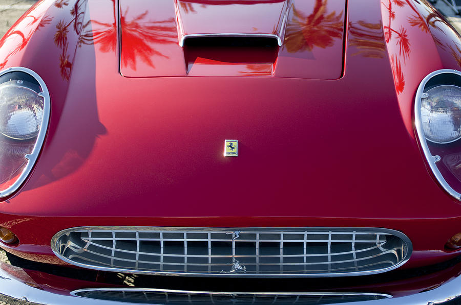 Ferrari Front End Photograph