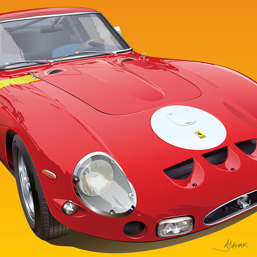 Ferrari Gto Detail Drawing