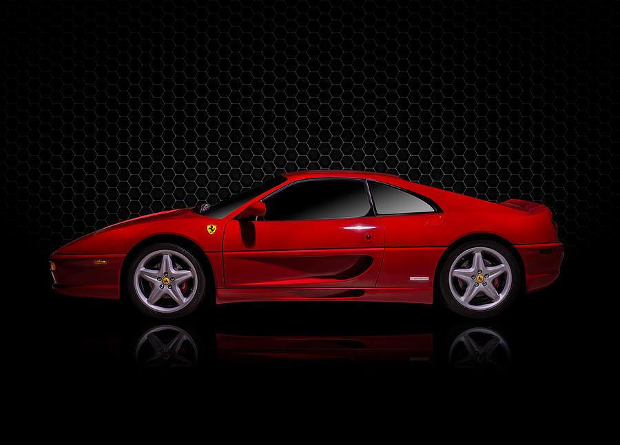 Ferrari Red - 355  F1 Berlinetto Digital Art