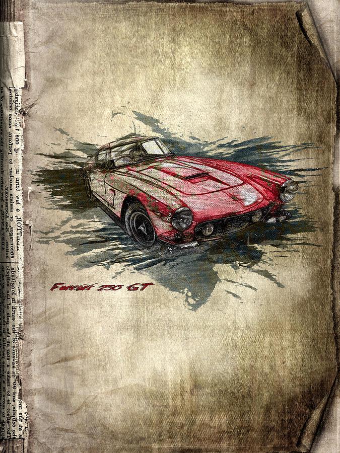 Ferrari Digital Art