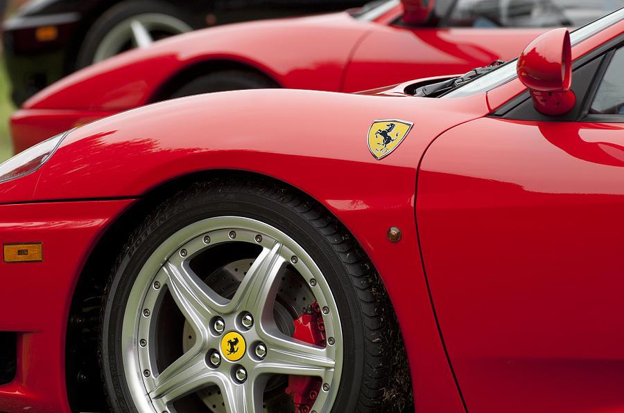 Ferrari Photograph - Ferraris 5 by Jill Reger