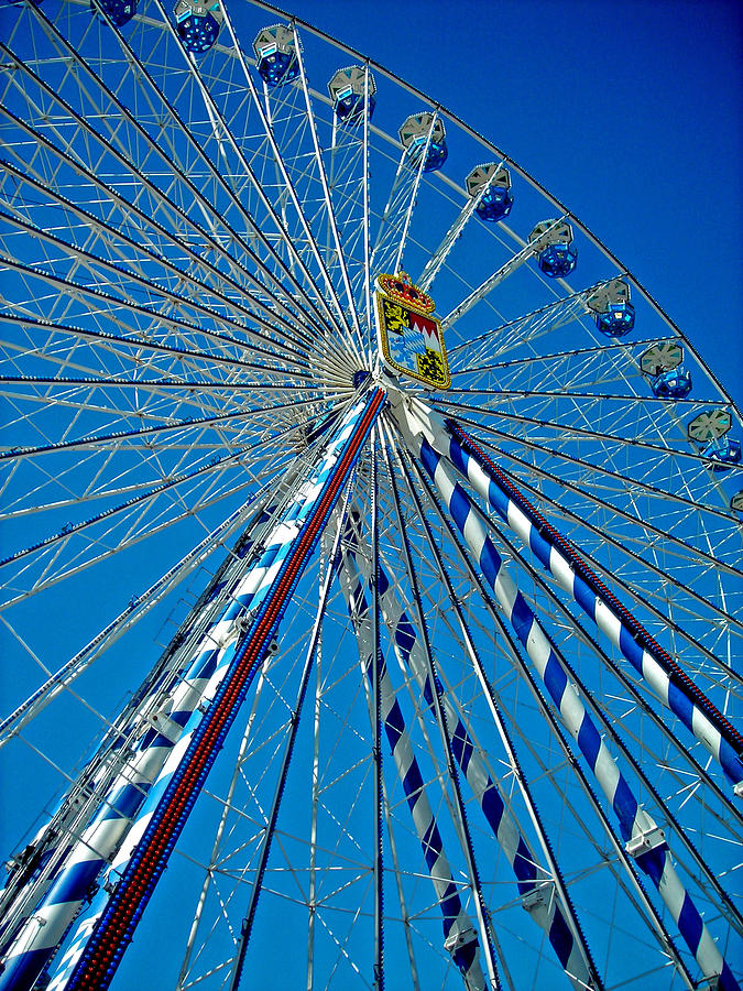 Ferris Wheel - Nuremberg  Photograph