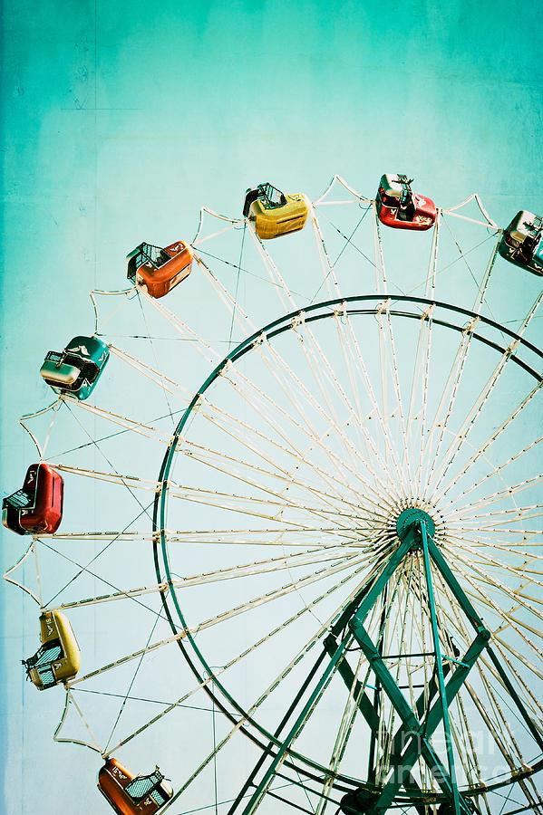 Ferris Wheel 2 Photograph