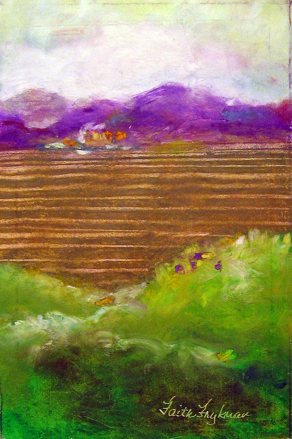 Field 2 Painting  - Field 2 Fine Art Print