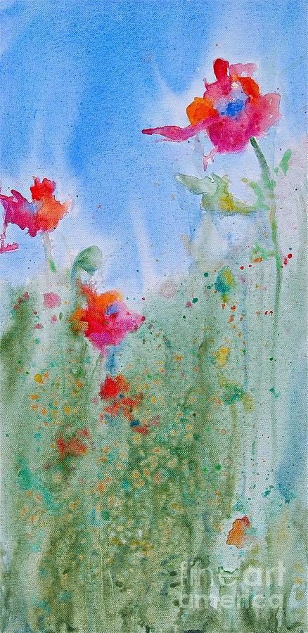 Field Flowers Painting