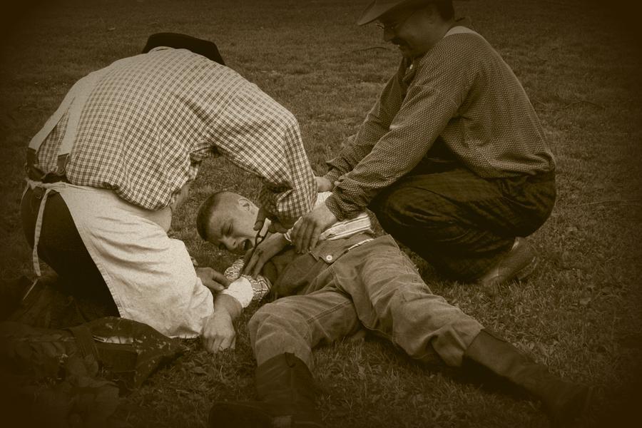 Field Repair Photograph