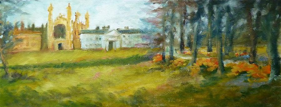 Fields In Spring Painting
