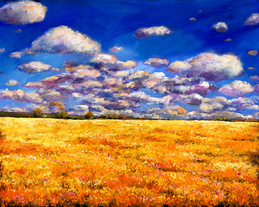 Fields Of Gold Painting  - Fields Of Gold Fine Art Print