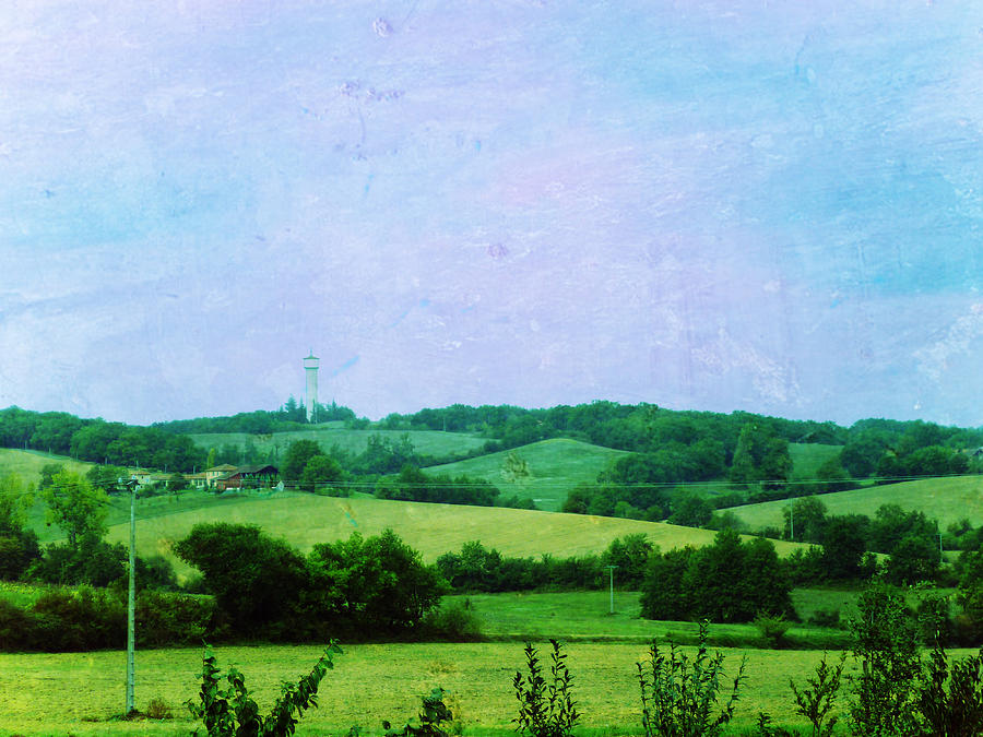 Fields Painting  - Fields Fine Art Print