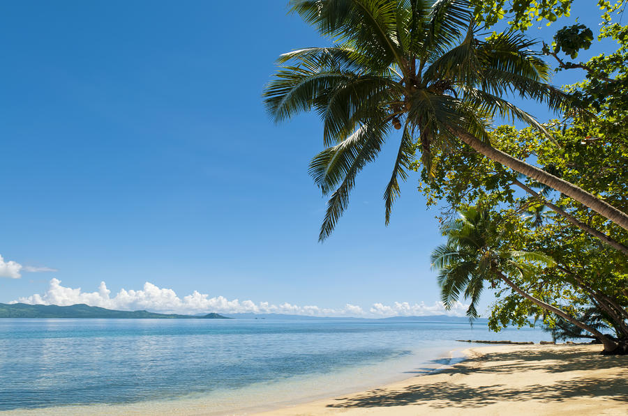 Fiji Beach Scene is a photograph by Greg Vaughn - Printscapes which ...