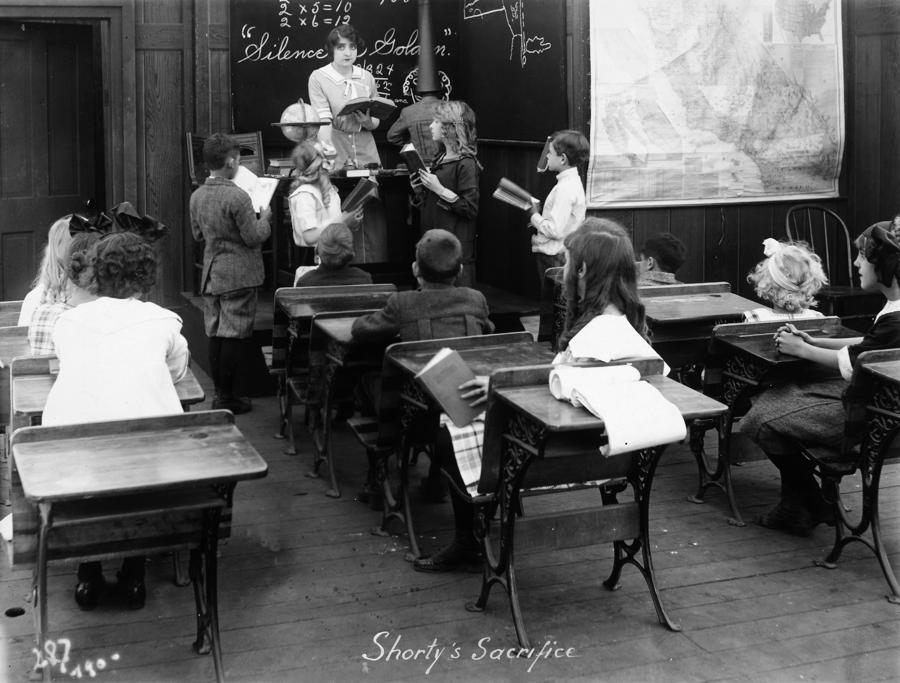 Film Still: Classroom Photograph