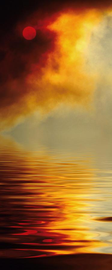 Filtered Sun Photograph