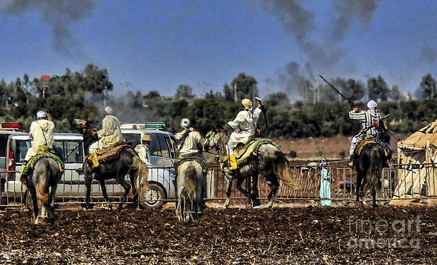 Morocco Photograph - Final Festival I by Chuck Kuhn