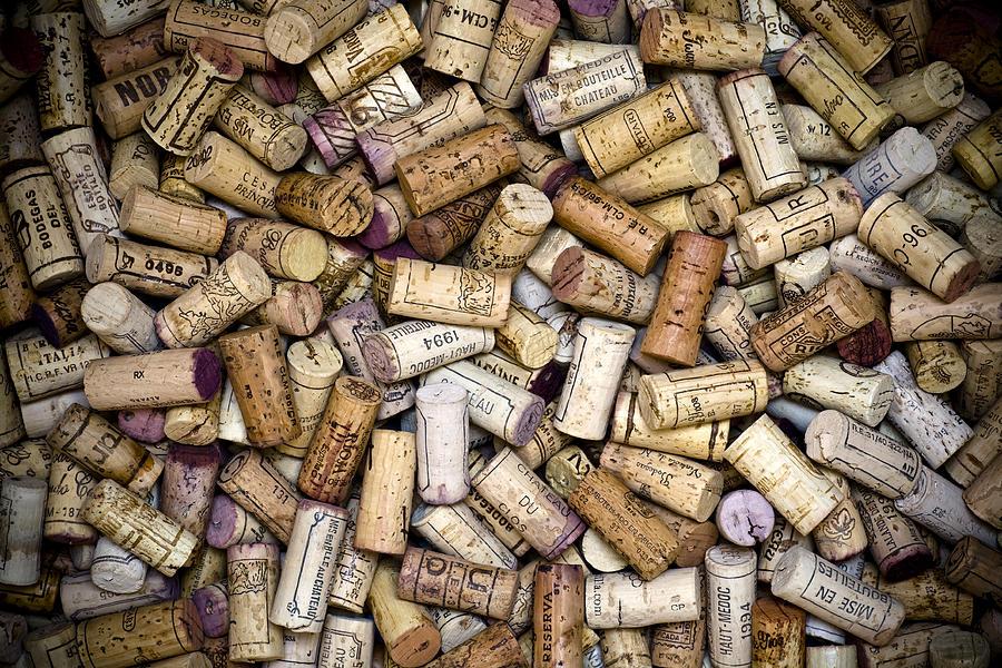 Fine Wine Corks Photograph