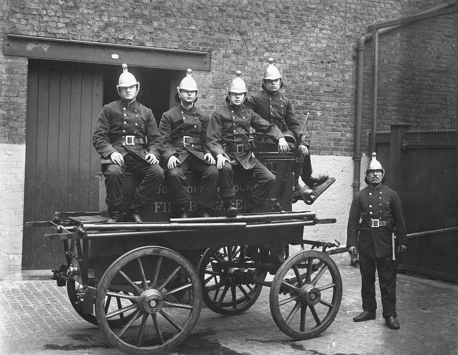 Fire Cart Photograph