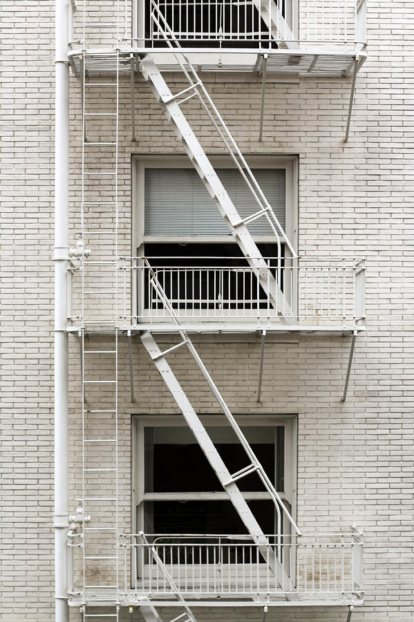 Fire Escape Photograph  - Fire Escape Fine Art Print