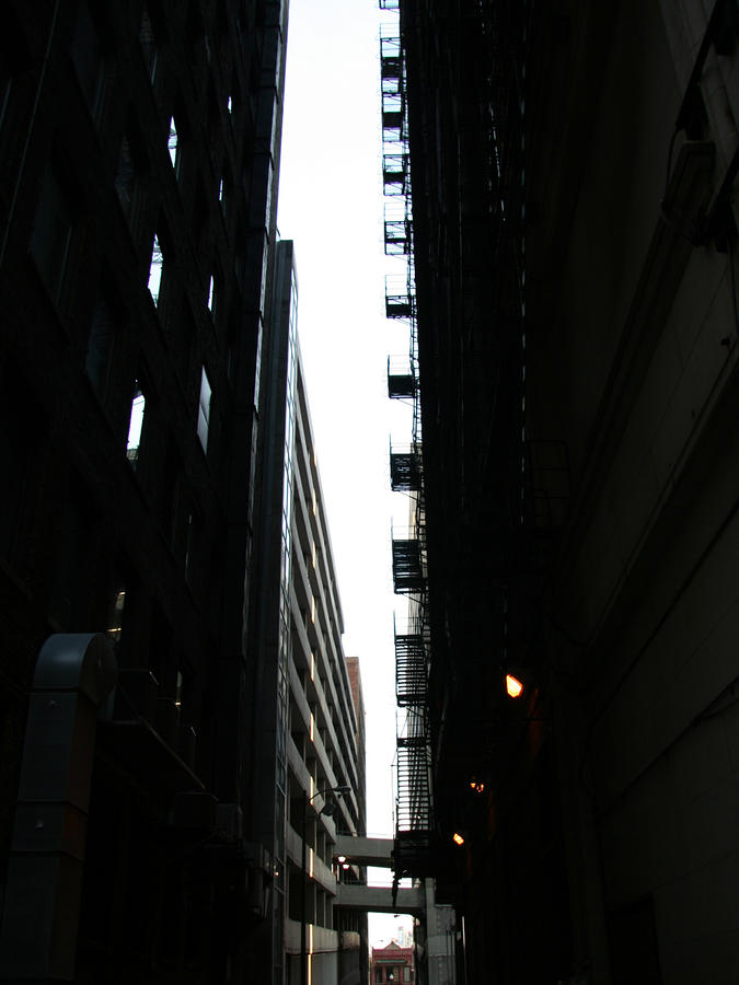 Fire Escapes Photograph