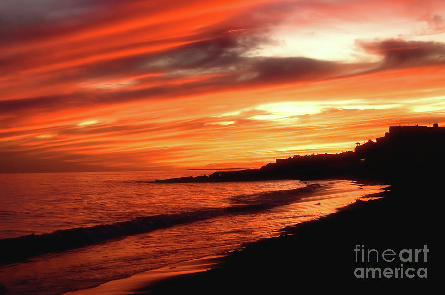 Fire In Sky Photograph  - Fire In Sky Fine Art Print
