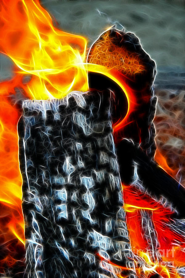 Fire Magic Digital Art