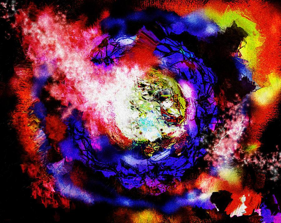 Fire Star Escape Digital Art
