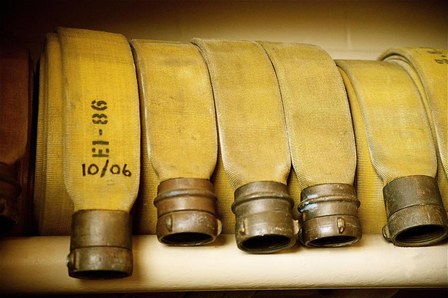 Firetruck Detail V Photograph