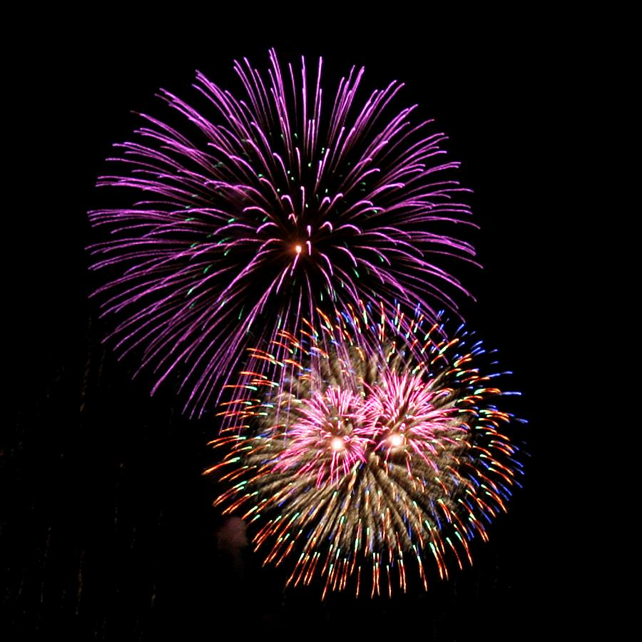 Fireworks Photograph - Firework Eyes by Chris Anderson