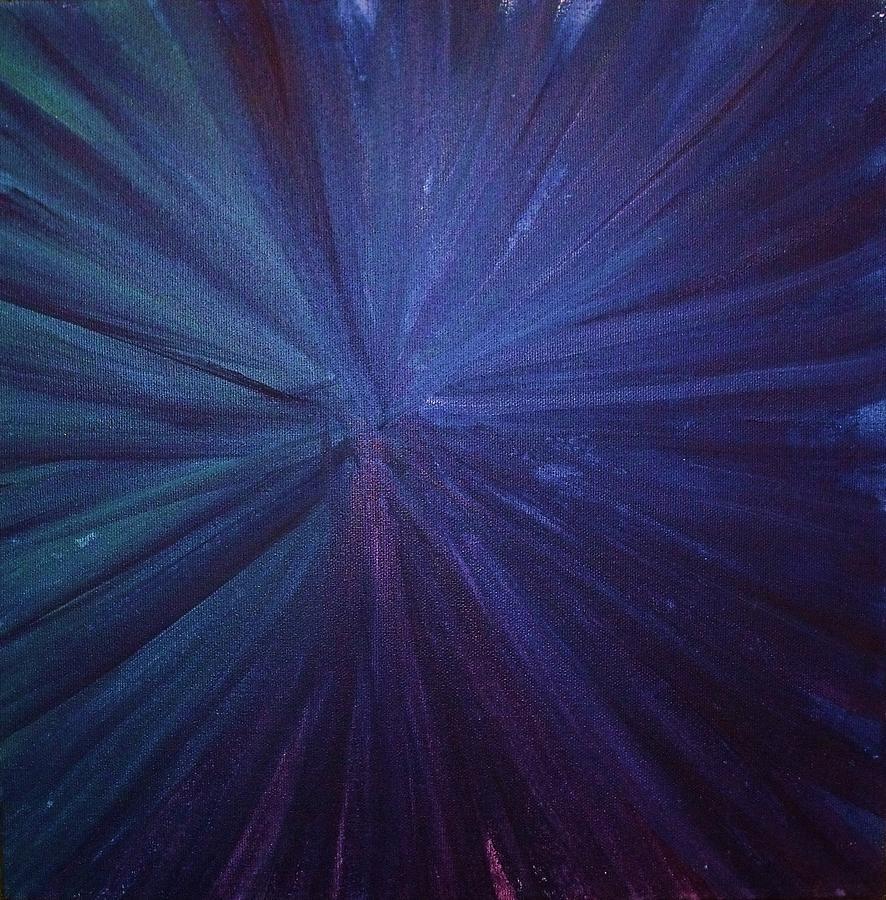 Fireworks I Painting