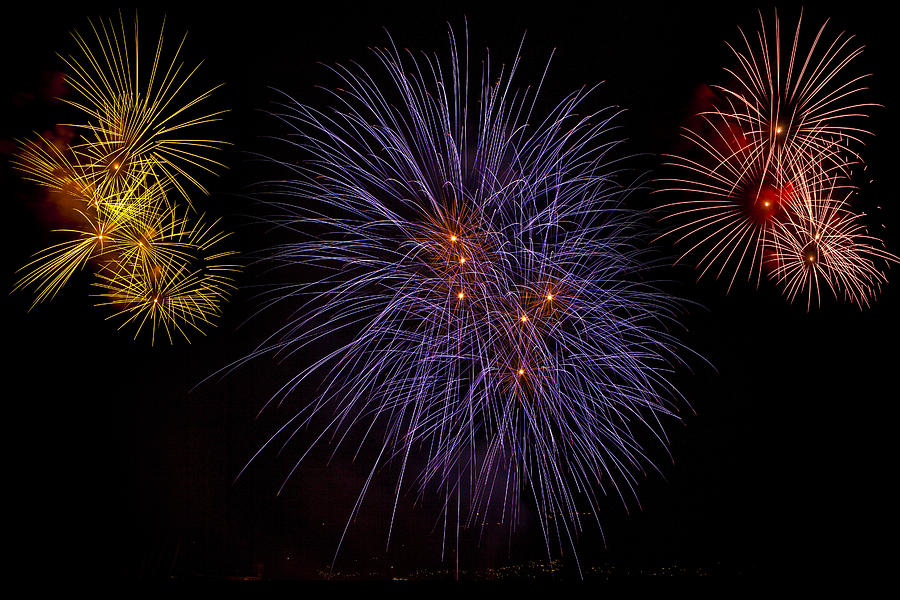 Fireworks Photograph - Fireworks by Joana Kruse
