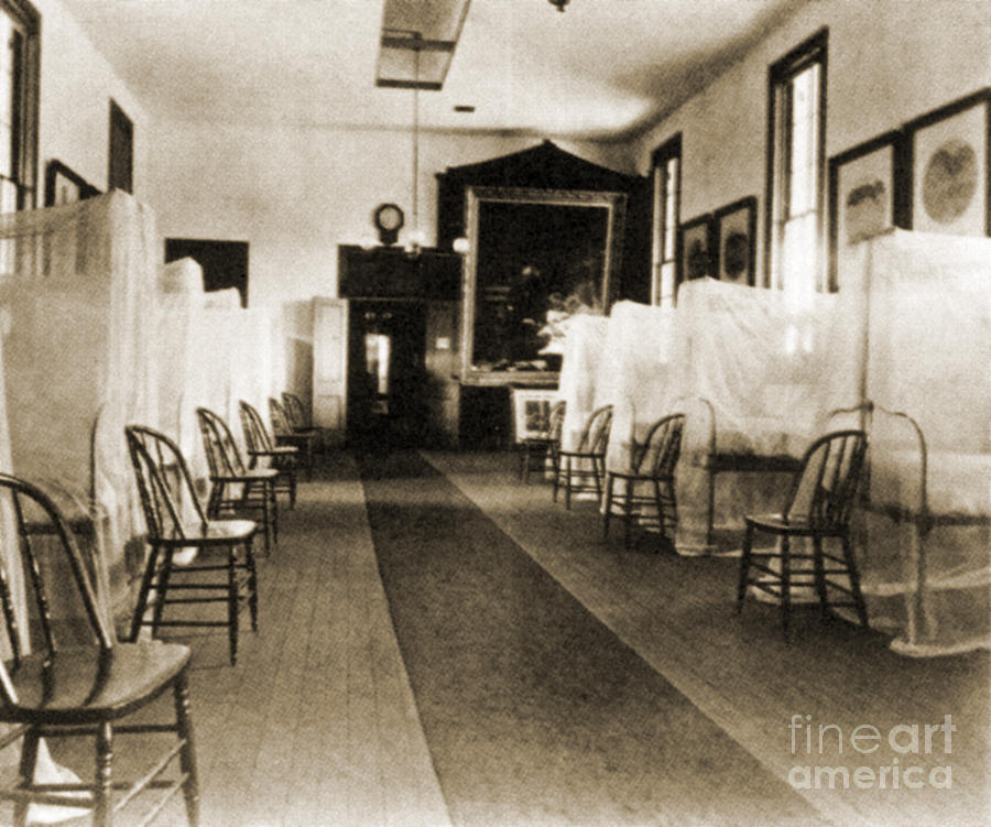 First Aid Hospital Exhibit, 1876 Photograph  - First Aid Hospital Exhibit, 1876 Fine Art Print