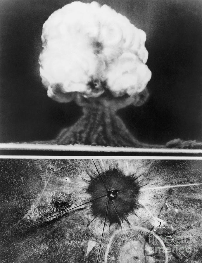 the controversy surrounding the atomic bomb since the first detonation in 1945 The first atomic bomb blast, 1945 printer friendly version  t he events that took place in a remote area of new mexico during the predawn hours of july 16, 1945 forever changed the world.