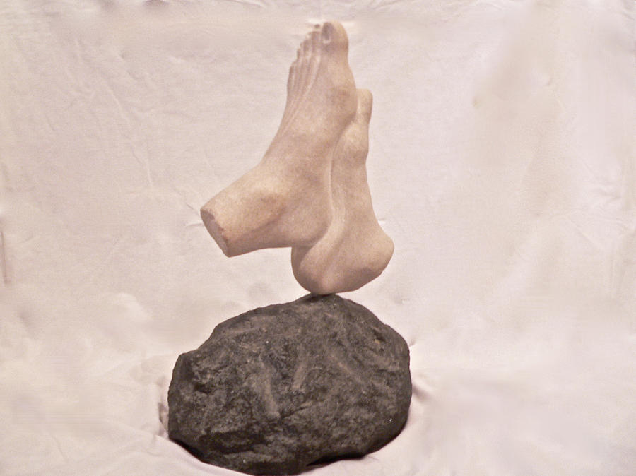 First Chakra Muladhara Root Left Detail Sculpture