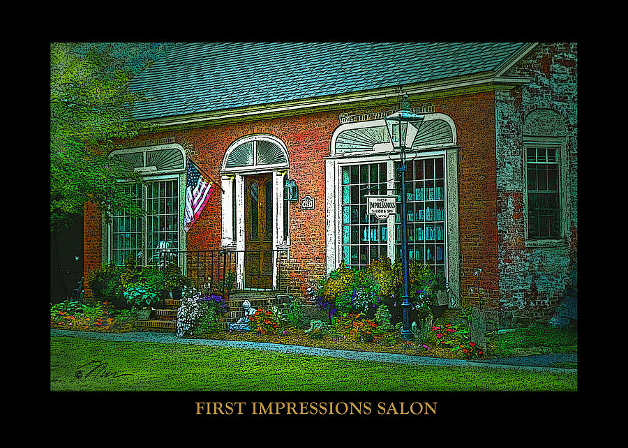 First impressions salon in woodstock vermont by nancy griswold for 1st impressions salon