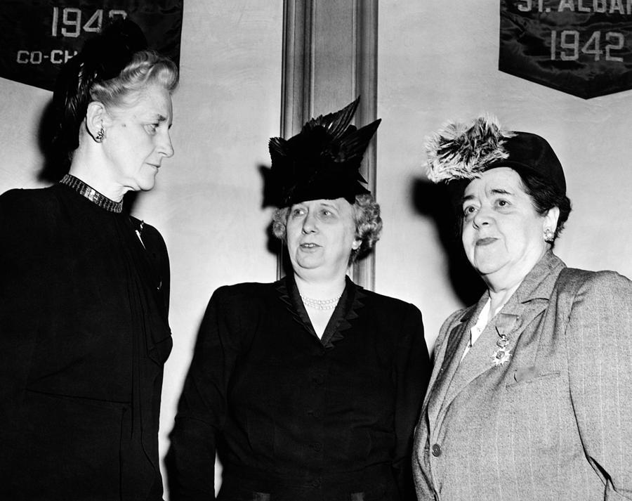First Lady Bess Truman Attending Photograph