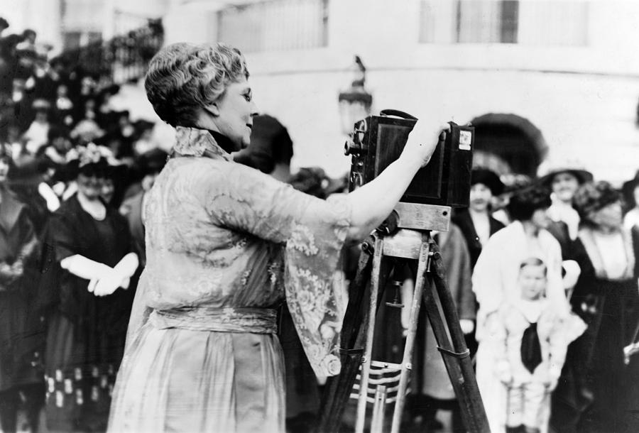 First Lady Florence Harding, Wife Photograph