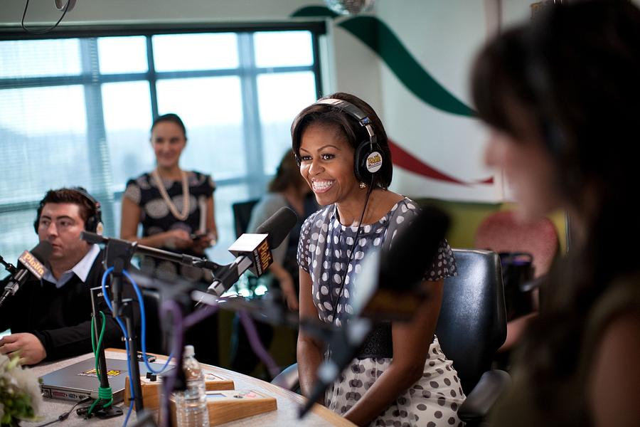 First Lady Michelle Obama Does An Photograph