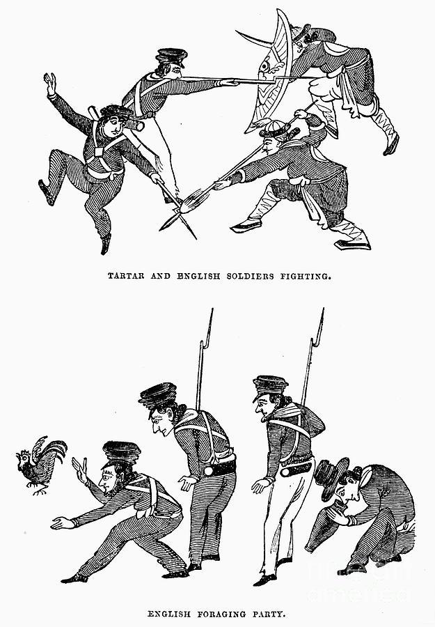 First Opium War: Soldiers Photograph