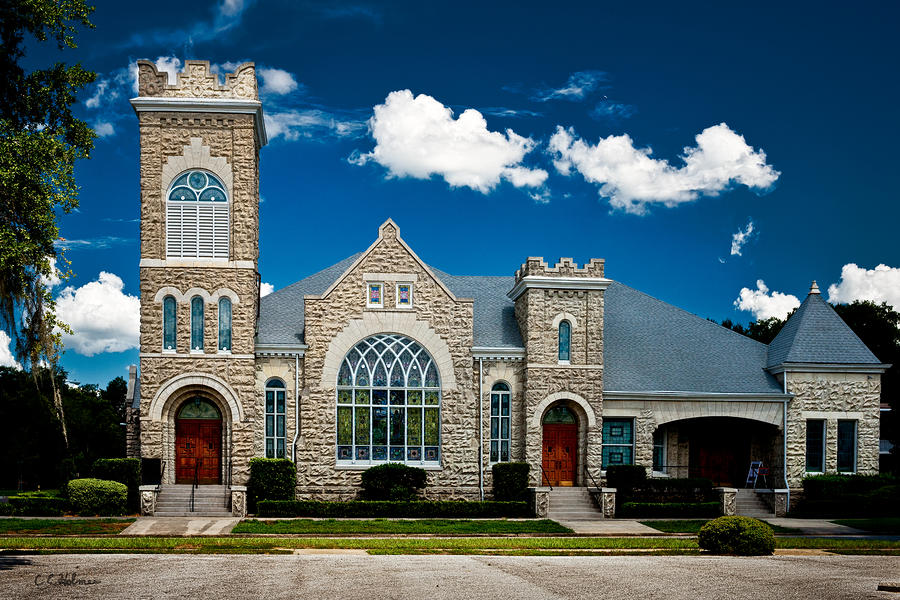 First Presbyterian Church Of Eustis Photograph